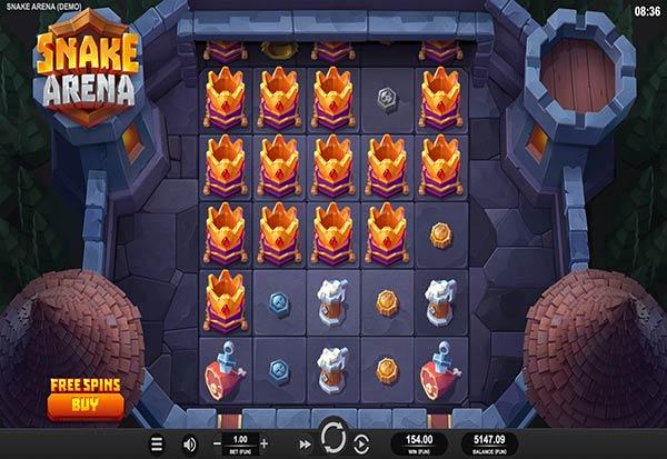 Snake Arena 777 Slots Bay game