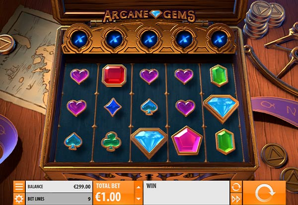 Arcane Gems 777 Slots Bay game