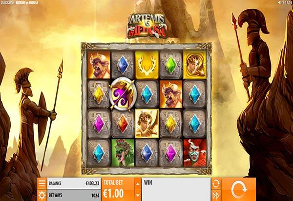 Artemis vs Medusa 777 Slots Bay game