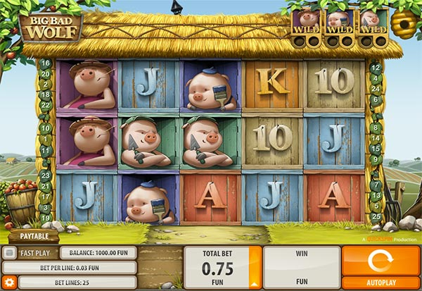 Big Bad Wolf 777 Slots Bay game