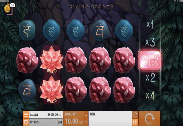 Divine Dreams 777 Slots Bay game