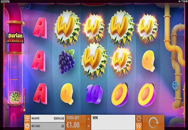 Durian Dynamite 777 Slots Bay game