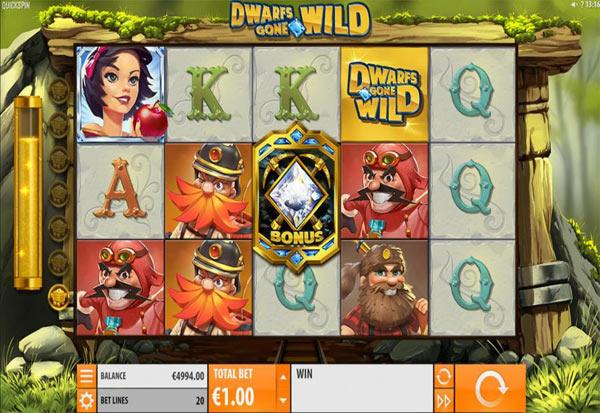 Dwarfs Gone Wild 777 Slots Bay game