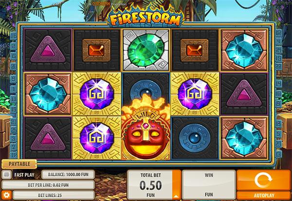 Firestorm 777 Slots Bay game