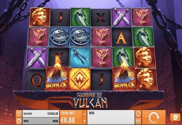 Hammer of Vulcan 777 Slots Bay game