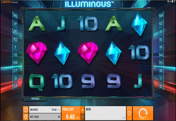 Illuminous 777 Slots Bay game