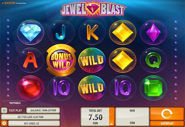 Jewel Blast 777 Slots Bay game
