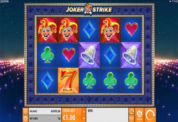 Joker Strike 777 Slots Bay game