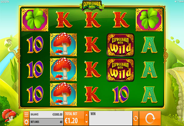 Leprechaun Hills 777 Slots Bay game