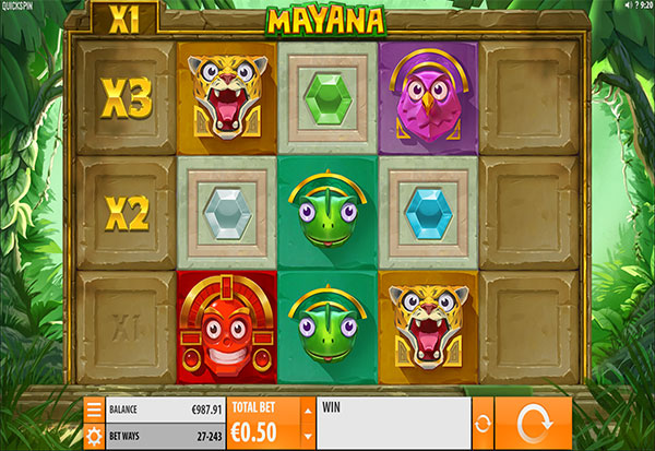 Mayana 777 Slots Bay game