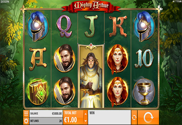 Mighty Arthur 777 Slots Bay game
