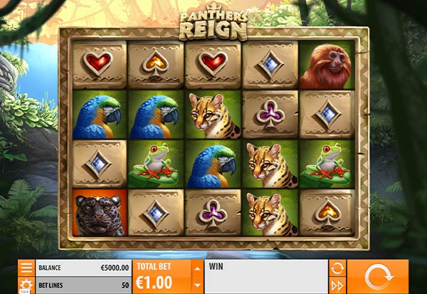 Panther's Reign 777 Slots Bay game