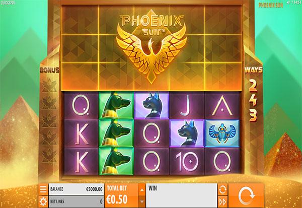 Phoenix Sun 777 Slots Bay game