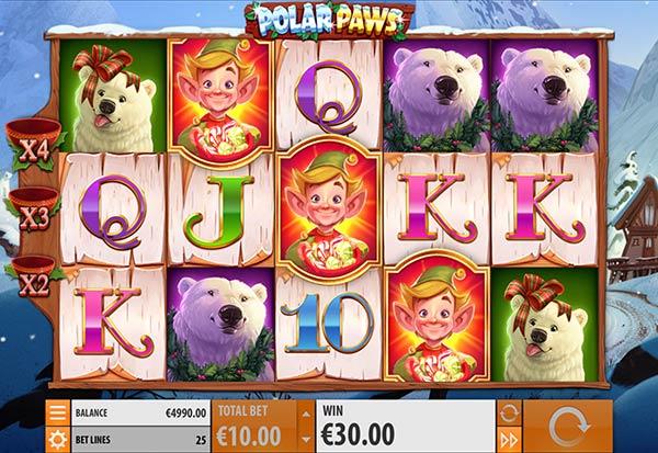Polar Paws 777 Slots Bay game