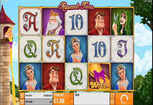 Rapunzel's Tower 777 Slots Bay game