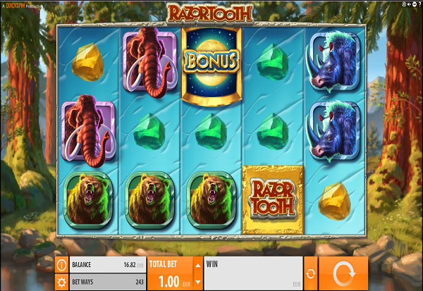 Razor Tooth 777 Slots Bay game