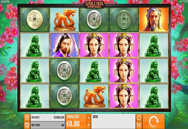 Sakura Fortune 777 Slots Bay game