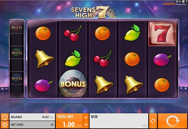 Sevens High 777 Slots Bay game