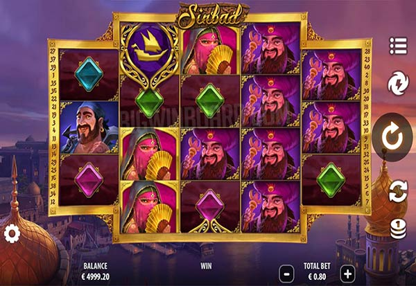 Sinbad 777 Slots Bay game
