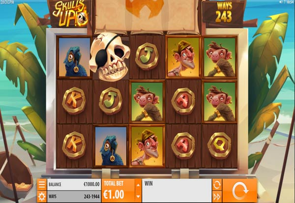 Skulls UP! 777 Slots Bay game