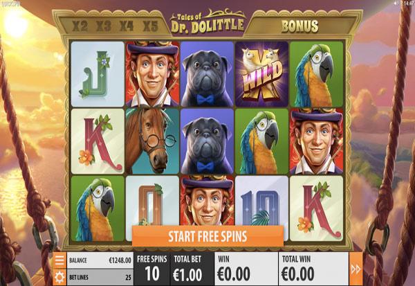 Tales of Dr Dolittle 777 Slots Bay game
