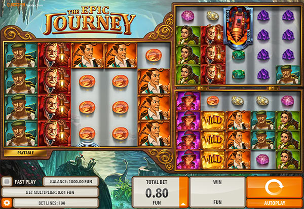 The Epic Yourney 777 Slots Bay game