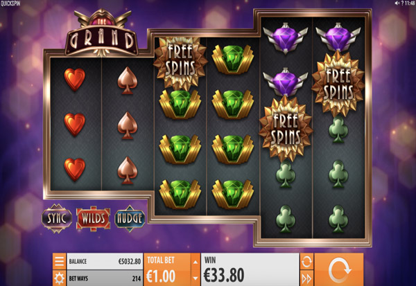 The Grand 777 Slots Bay game