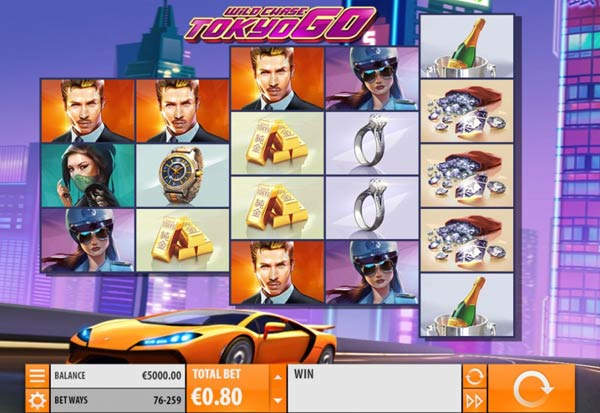 The Wild Chase Tokyo Go 777 Slots Bay game