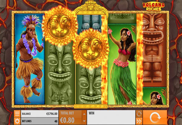 Volcano Riches 777 Slots Bay game