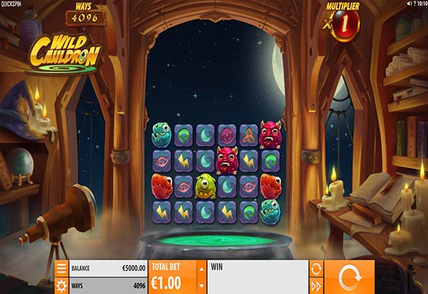 Wild Cauldron 777 Slots Bay game