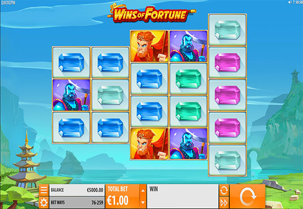 Wins Of Fortune 777 Slots Bay game