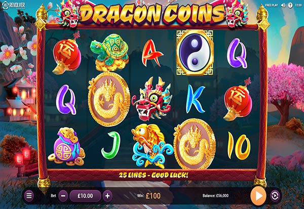 Dragon Coins 777 Slots Bay game