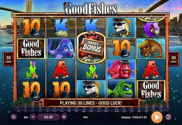 GoodFishes 777 Slots Bay game