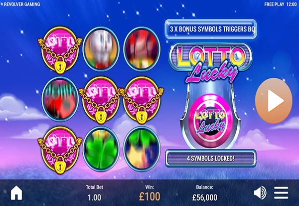 Lotto Lucky 777 Slots Bay game