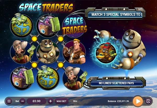 Space Traders 777 Slots Bay game
