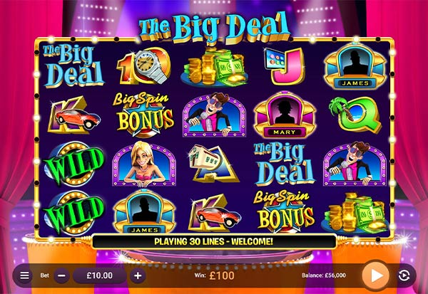 The Big Deal 777 Slots Bay game
