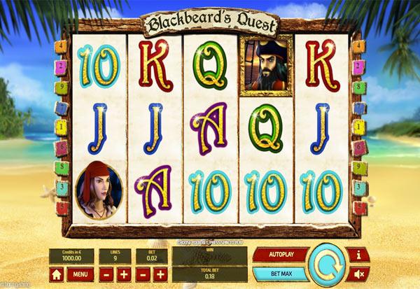 Blackbeard's Quest Mini 777 Slots Bay game