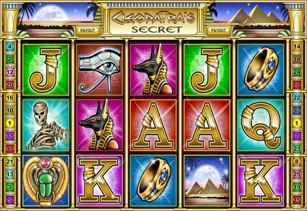 Cleopatra's Secret 777 Slots Bay game