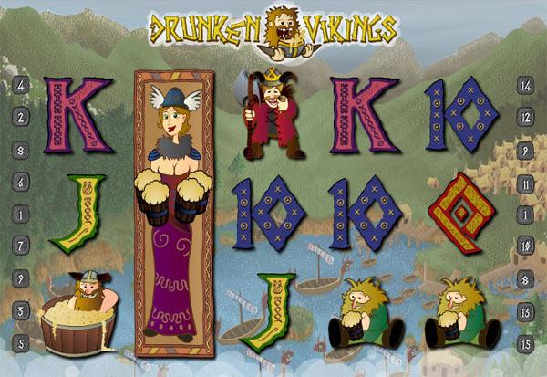 Drunken Vikings 777 Slots Bay game