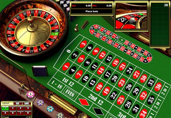 European Roulette 777 Slots Bay game