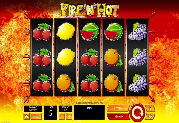 Fire 'n' Hot 777 Slots Bay game