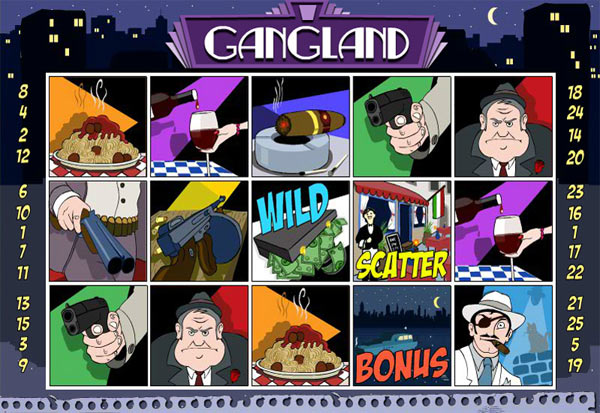 Gangland 777 Slots Bay game
