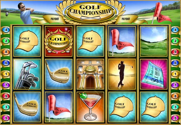 Golf Championship 777 Slots Bay game