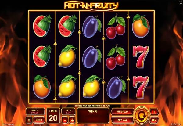 Hot'n'fruity 777 Slots Bay game