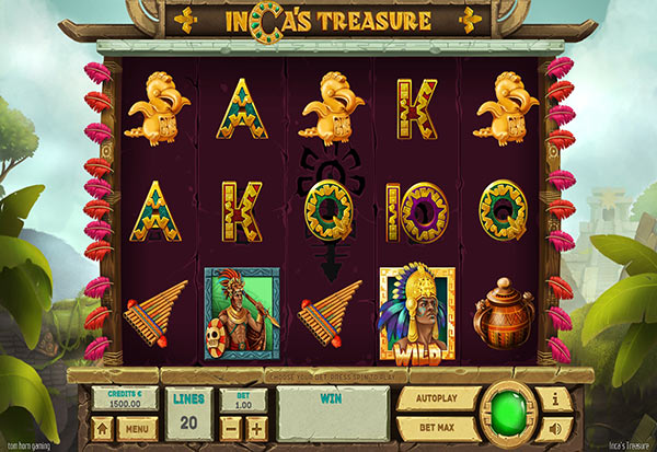 Inca's Treasure 777 Slots Bay game