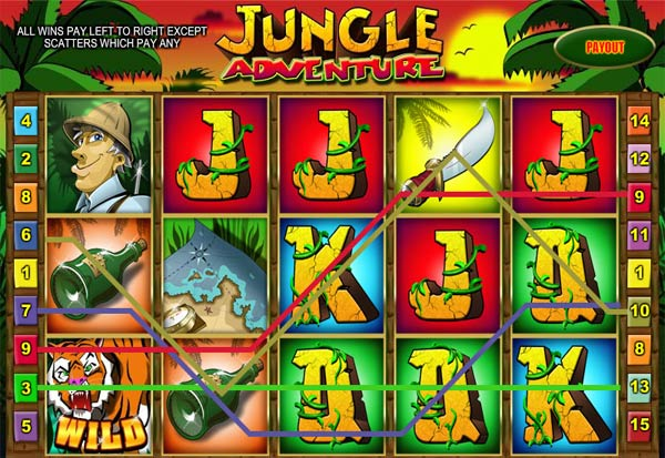 Jungle Adventure 777 Slots Bay game