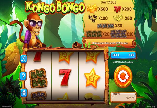 Kongo Bongo 777 Slots Bay game