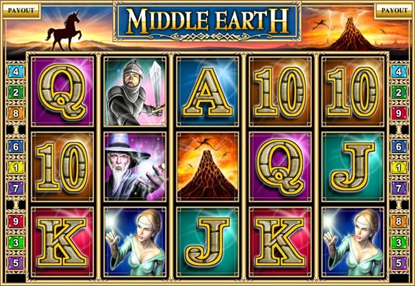 Middle Earth 777 Slots Bay game