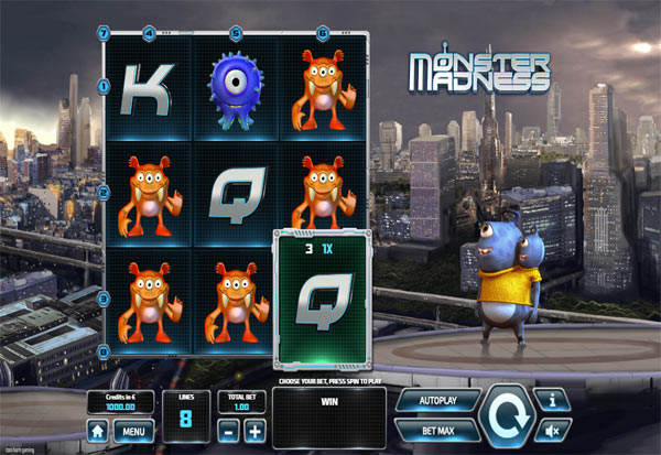 Monster Madness 777 Slots Bay game