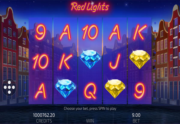 Red Lights 777 Slots Bay game